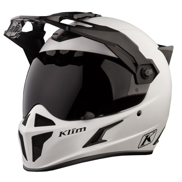 Klim Casca Krios Karbon Adventure Ece Element Matte White 2019