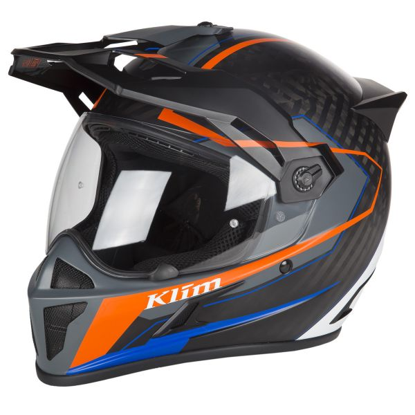 Klim Casca Krios Karbon Adventure Vanquish Orange 2019