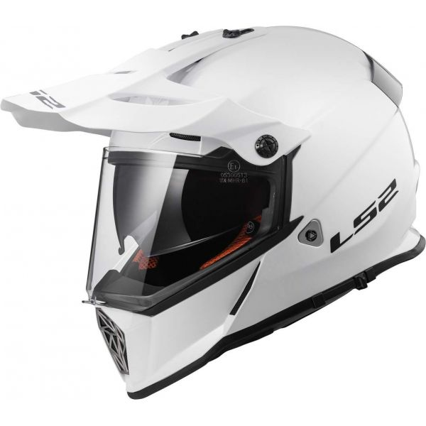 Casti ATV LS2 Casca ATV MX436 Pioneer Gloss White