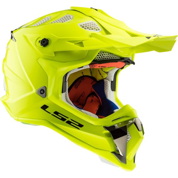 LS2 Casca MX470 Subverter Solid Yellow 2019