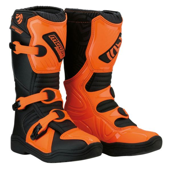 Moose Racing Cizme M.1 3 S8 Black/Orange Copii