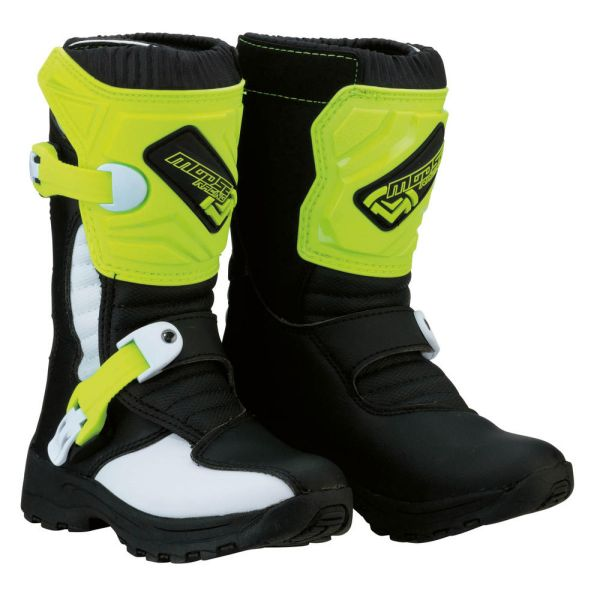 Moose Racing Cizme M.1 3 S8 Black/Yellow Copii Mici
