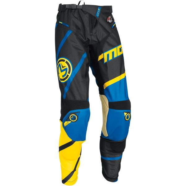 Moose Racing LICHIDARE STOC Pantaloni S7 M1 Yellow/Cyan