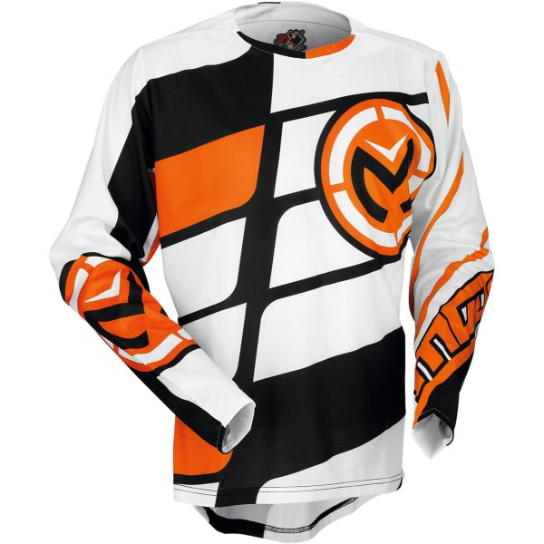 Tricouri MX-Enduro Moose Racing LICHIDARE STOC Tricou S7 M1 Orange/Black