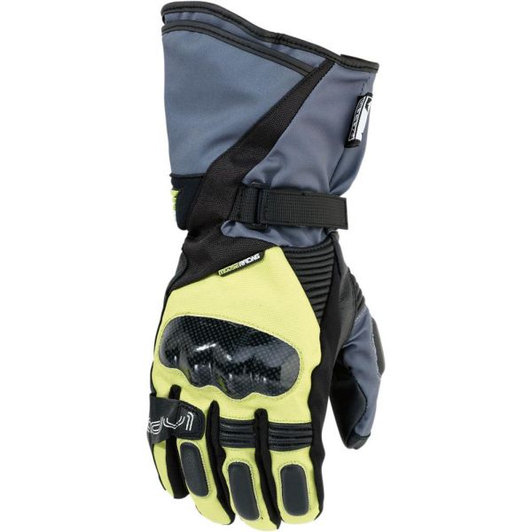 Moose Racing Manusi ADV1 S6 Gray/Yellow