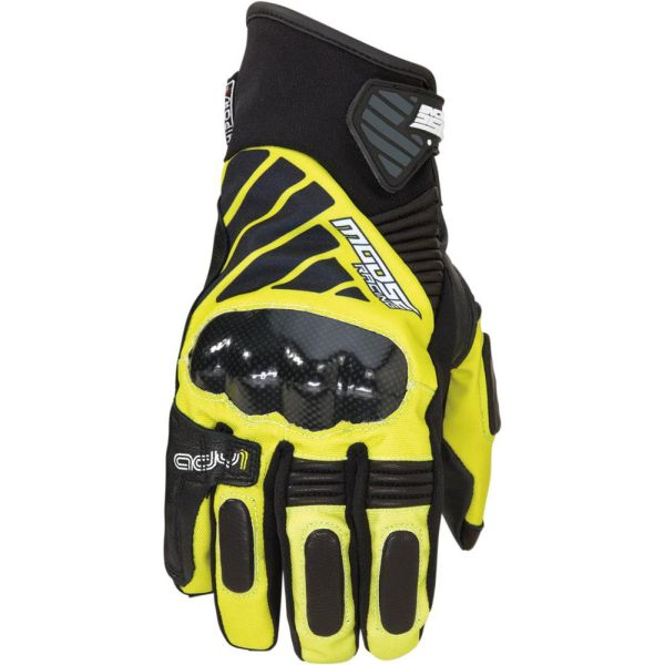 Moose Racing Manusi ADV1 S7 Mid Cuff Black/Yellow