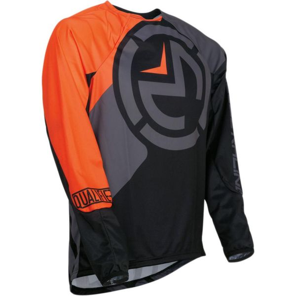 Moose Racing Tricou Qualifier Black/Orange S9 Copii