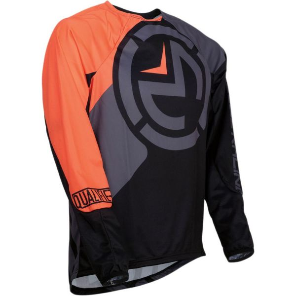 Moose Racing Tricou Qualifier Black/Orange S9