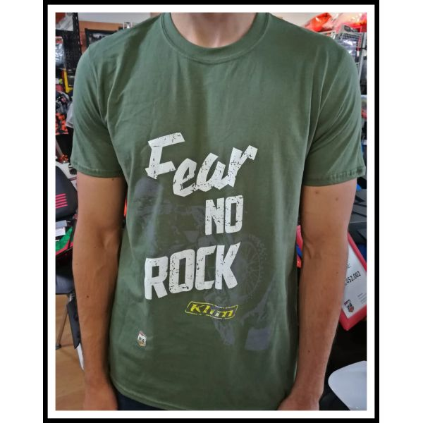 Moto24 Tricou Fear No Rock Military Green 2019