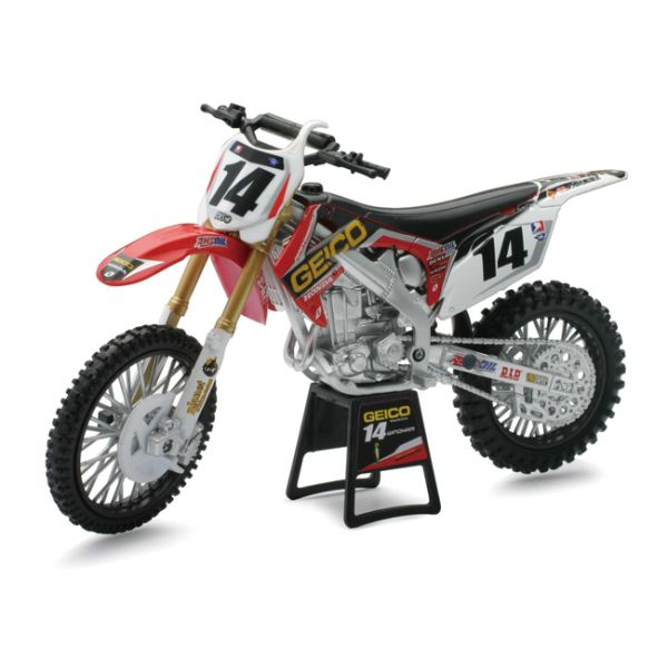 New Ray Macheta Honda Factory Geico Team Barcia/Windham 1:12