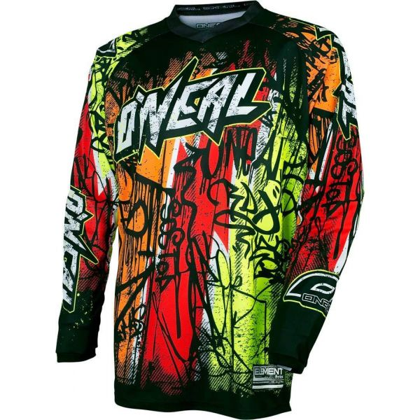 Tricouri MX-Enduro Oneal MX Tricou Element Vandal Neon 2017