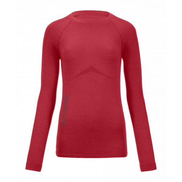 Ortovox Bluza 230 Competition Long Sleeve Hot Coral Dama