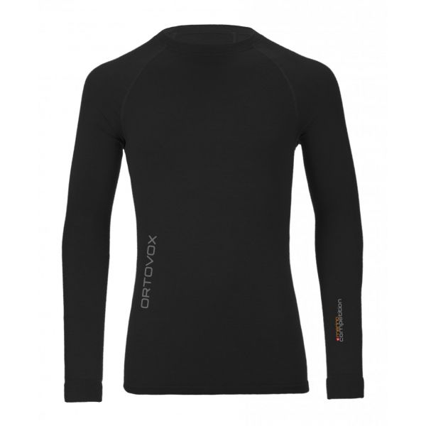 Ortovox Bluza Merino 230 Competition Loong Sleeve Black Raven