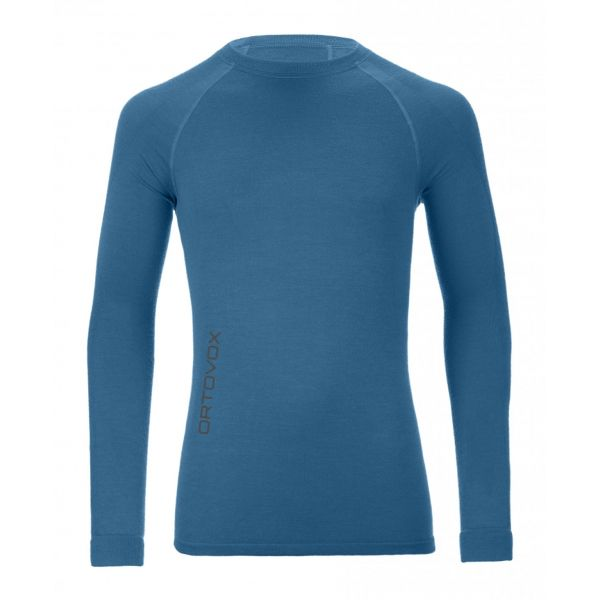 Ortovox Bluza Merino 230 Competition Loong Sleeve Blue Sea