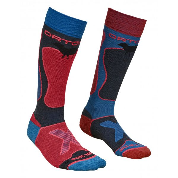 Ortovox Sosete Merino Ski Rock N Wool Night Blue Dama