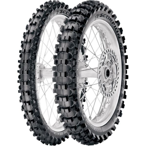 Pirelli ANVELOPA SCORPION MX 32 MID SOFT FATA 70/100-19 42M TT NHS