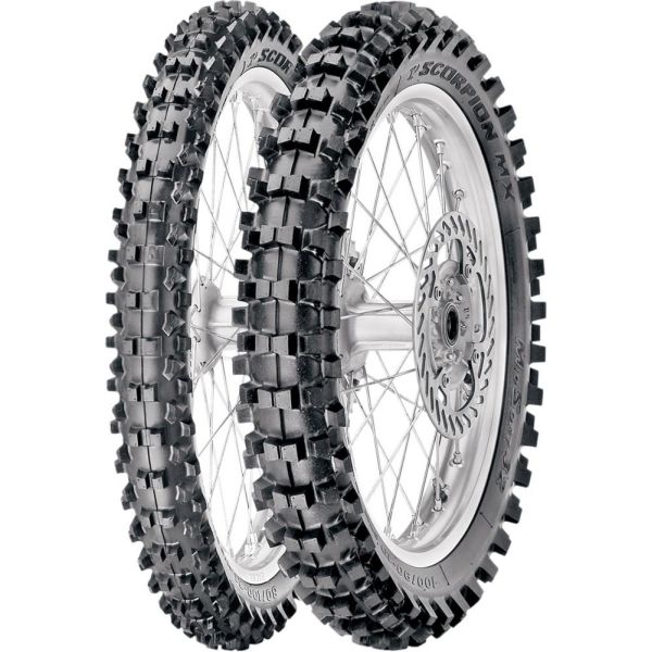 Pirelli ANVELOPA SCORPION MX 32 MID SOFT SPATE 120/90-19 66M TT NHS