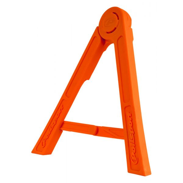 Polisport Cric Lateral Tripod Pliabil Orange