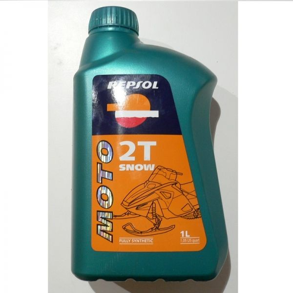 Repsol Ulei 2T Snowmobil Fully Synthetic 1L