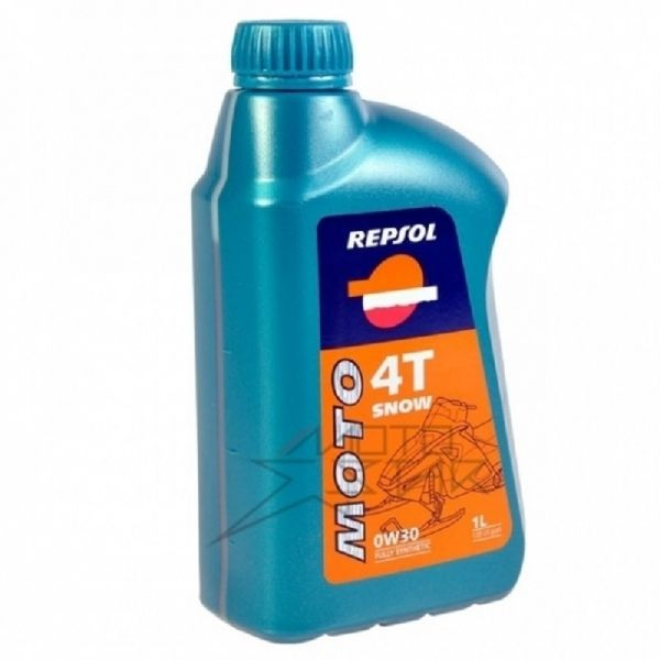 Repsol Ulei 4T Snowmobil Fully Synthetic 0W30 1L
