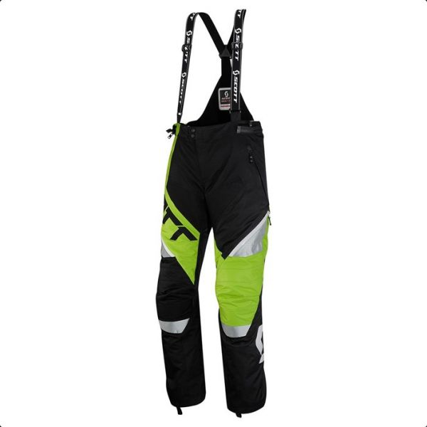 Scott Pantaloni SMB Comp Pro Black/Green