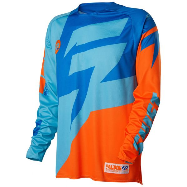Tricouri MX-Enduro Shift LICHIDARE STOC Tricou Faction Blue/Orange