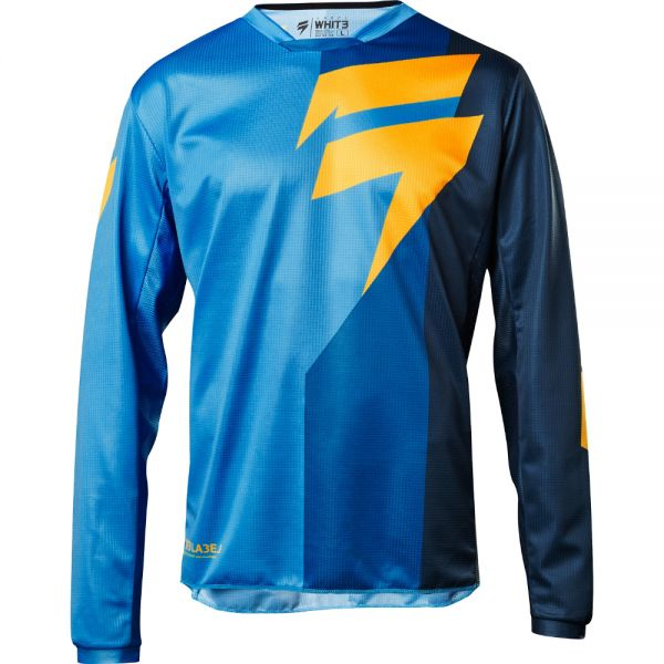 Tricouri MX-Enduro Shift Tricou Whit3 Tarmac Blue 2018