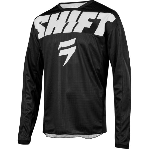 Shift Tricou Whit3 York Black/White 2019