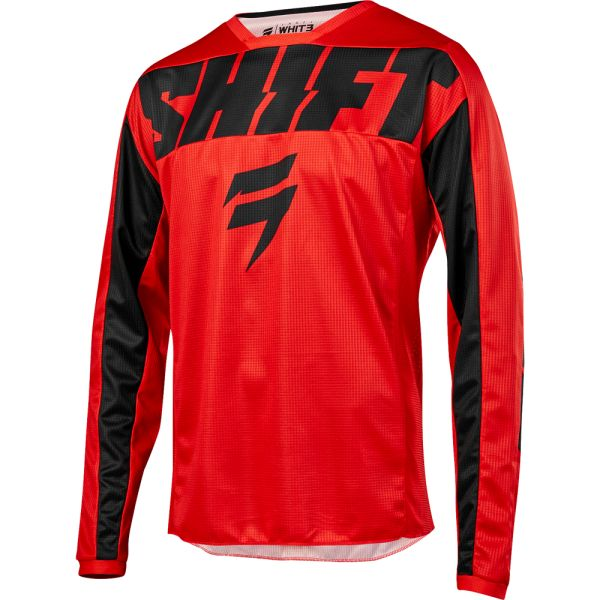 Shift Tricou Whit3 York Red/Black 2019