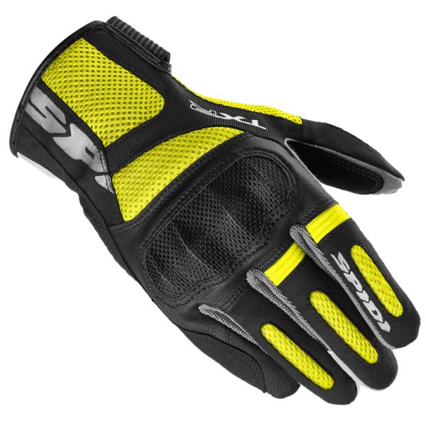 Spidi Manusi Textile TXR Black/Yellow