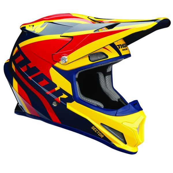 Thor Casca Sector Ricochet Navy/Yellow/Red S8