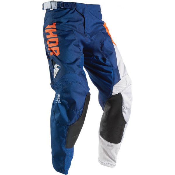 Pantaloni MX-Enduro Thor LICHIDARE STOC Pantaloni S7 Pulse Aktiv Navy/Orange