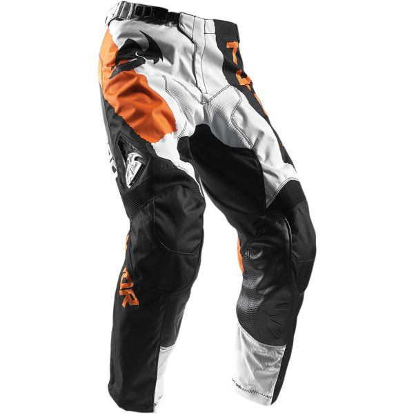Pantaloni MX-Enduro Thor LICHIDARE STOC Pantaloni S7 Pulse Taper White/Orange
