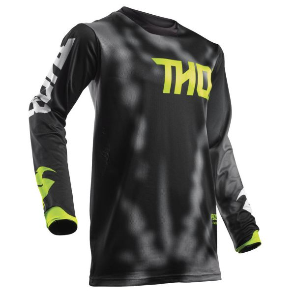 Thor LICHIDARE STOC Tricou Pulse Air Radiate Black S8 Copii