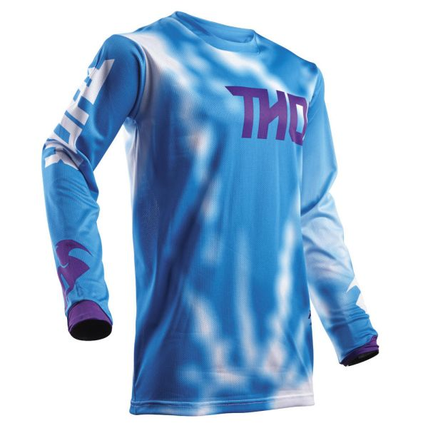 Thor LICHIDARE STOC Tricou Pulse Air Radiate Blue S8 Copii
