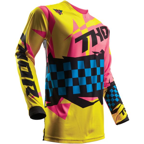 Thor LICHIDARE STOC Tricou S7 Pulse Louda Yellow/Pink