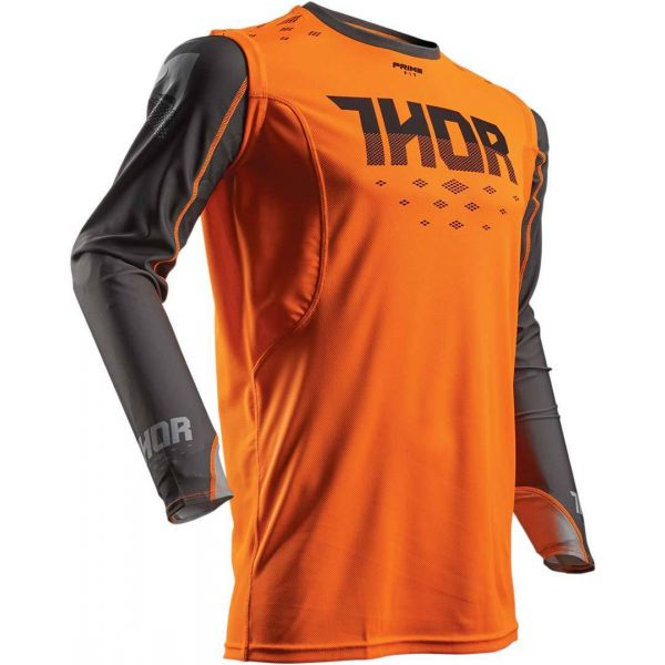 Tricouri MX-Enduro Thor LICHIDARE STOC Tricou S8 Prime Fit Orange/Grey