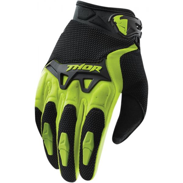 Manusi MX-Enduro Thor Manusi S15 Spectrum Black/Green