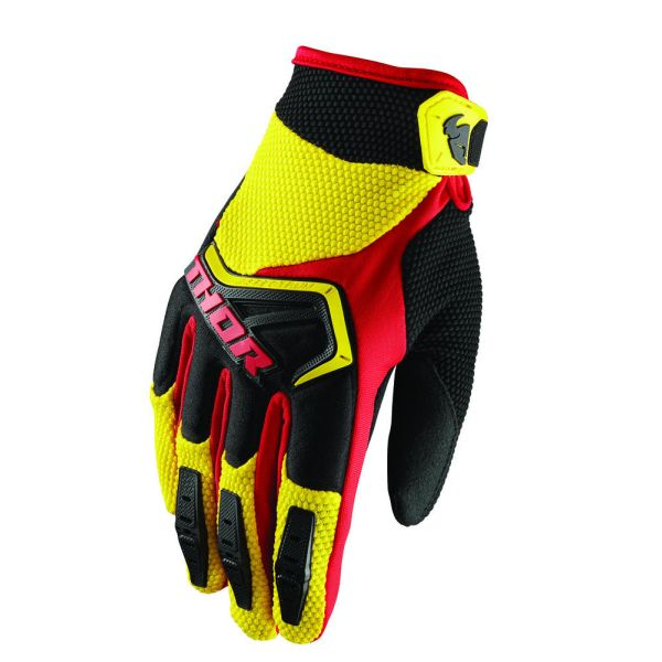 Thor Manusi Spectrum S8 Black/Yellow Copii