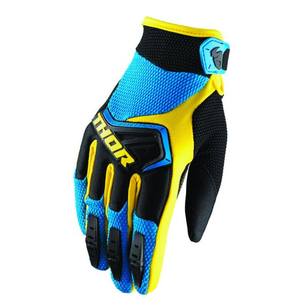 Thor Manusi Spectrum S8 Blue/Black Copii