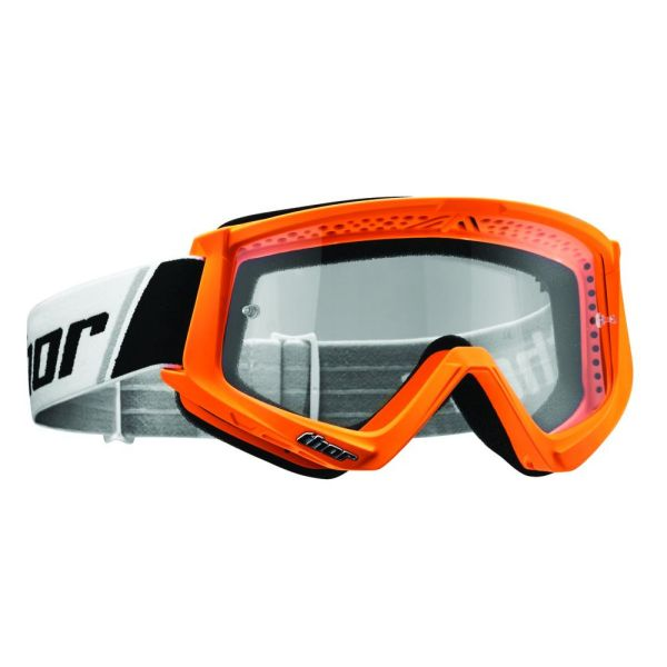 Thor Ochelari S7 Combat Flo Orange/Black