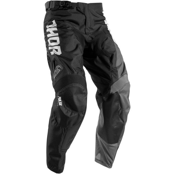 Thor Pantaloni Pulse Aktiv S7 White/Black Copii