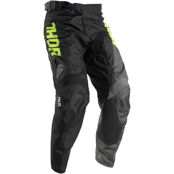 Thor Pantaloni S7 Pulse Aktiv Black/Lime