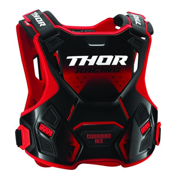 Thor Protectie Piept Guardian MX Roost Deflector Red/Black Copii