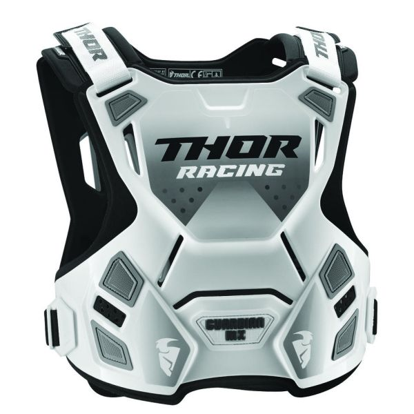Thor Protectie Piept Guardian MX Roost Deflector White/Black Copii
