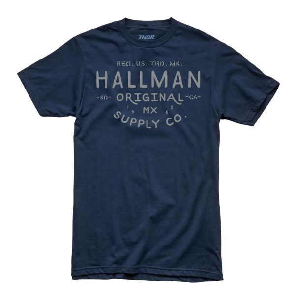 Thor Tricou Hallman Supply S9 Navy