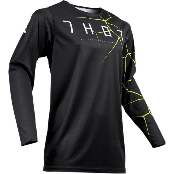 Thor Tricou Prime Pro Infection Black/Acid S9