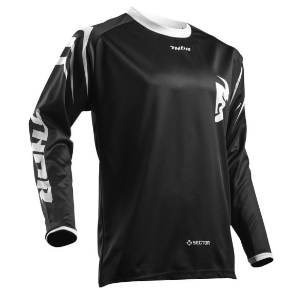 Tricouri MX-Enduro Thor Tricou Sector Zones Black S8