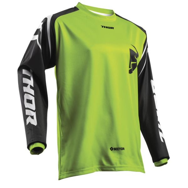 Tricouri MX-Enduro Thor Tricou Sector Zones Green S8