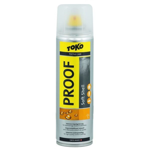 Toko Solutie impermeabilizare Toko Soft Shell Proof 250ml